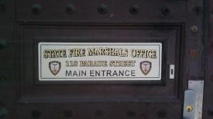 Detail of West door.
